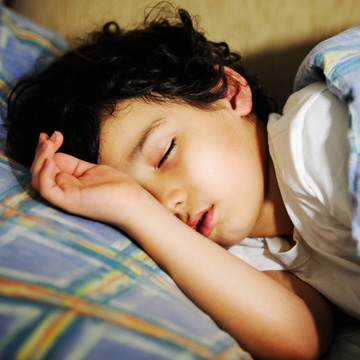 not normal for child to snore