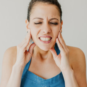 stress related jaw pain
